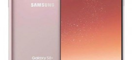 Le Samsung Galaxy S8+ arrive en Rose