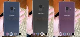 Samsung Galaxy S9 : de nouvelles photos volées à l'intérieur d'une application