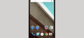 Ecran d'accueil Android L sur Nexus X