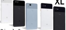 Google Pixel 2 : les caractéristiques en fuite