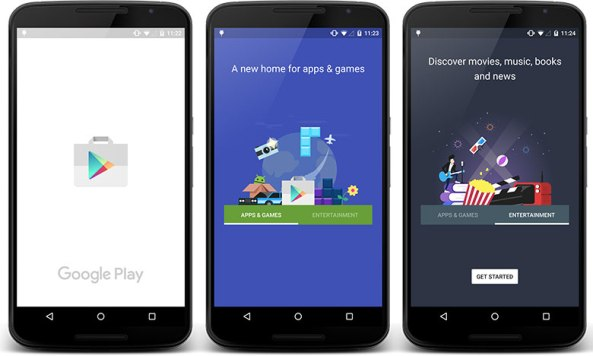 how to change store google play