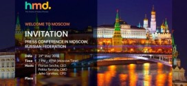 HMD Global : un nouvel événement prévu en Russie
