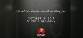 Huawei Mate 10 : présentation officielle le 16 octobre