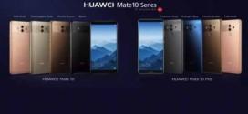 Les Huawei Mate 10 et Mate 10 Pro officialisés