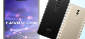 Le Huawei Mate 20 Lite se dévoile en image