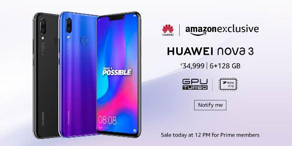 1huawei nova 3 amazon