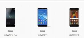 Huawei P11 et P12 : deux appareils pour succéder au P10