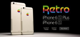 iPhone 6S  maintenant en version retro