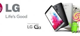 LG G3 SFR : mise à jour vers Lollipop