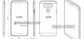 LG G5 : un nouveau rendu schématique