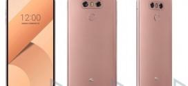 LG G6 : désormais en rose