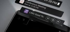 LG : un nouveau teaser vidéo du V10