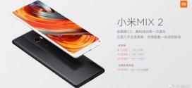 Xiaomi Mi Mix 2 : maintenant en céramique et en blanc