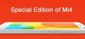Xiaomi : une édition spéciale du Mi4