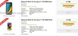 Le Motorola Moto G 2015 à la Fnac