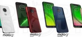 Motorola Moto G7 : les premiers rendus