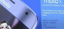 Le Lenovo Moto X4 apparaît dans une vidéo