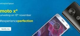 Motorola Moto X4 : une présentation officielle le 13 novembre