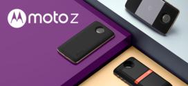 Moto Lenovo présente le Moto Z et ses Moto Mods