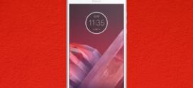 Motorola Moto Z2 Play : un premier fond d'écran dévoilé