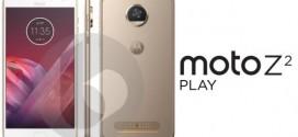 Lenovo Moto Z2 Play : des rendus apparaissent sur la toile