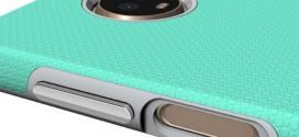 Motorola Moto Z3 Play : un lecteur d'empreintes sur le côté
