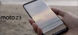 Motorola Moto Z3 Play : les caractéristiques techniques dévoilées