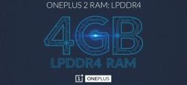 Le OnePlus 2 aura 4GB de RAM