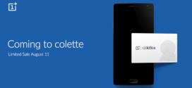 Le OnePlus 2 s'invite chez Colette