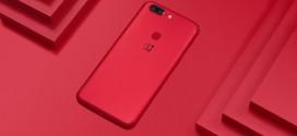 OnePlus 5T : une magnifique édition Lava Red