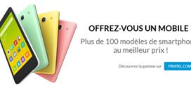 Des smartphones à très bon prix chez Prixtel