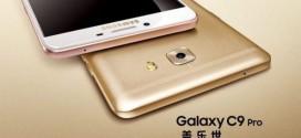Le Samsung Galaxy C9 Pro officialisé