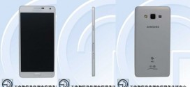 Le Samsung Galaxy A7 de passage au TEENA