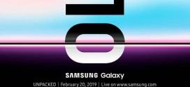 Samsung Galaxy S10 : un événement «Unpacked» le 20 février