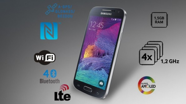 1samsung galaxy s4 mini +