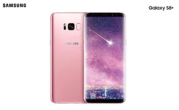 1samsung galaxy s8 pink