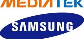 Des puces Mediatek dans les mobiles Samsung
