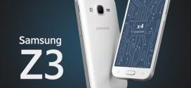 Samsung : le Z3 bientôt en Europe