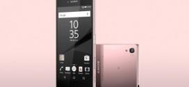 Le Sony Xperia Z5 Premium disponible en rose