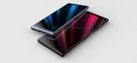 Sony Xperia XA3 : les premiers rendus