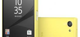 Sony : l'Xperia Z5 Compact vendu sans lecteur d'empreintes aux USA
