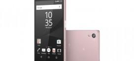 Sony Xperia Z5 : maintenant en rose