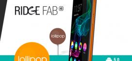 Wiko : les Ridge 4G et Ridge Fab 4G passent à Lollipop