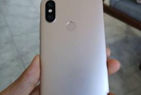 Xiaomi Mi A2 : premières photos