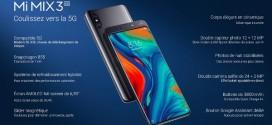 MWC 2019 : Xiaomi Mi Mix 3 5G
