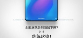 Xiaomi Mi Mix 3 : du bezel-less pour le 15 septembre