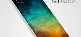 Xiaomi Mi Note et Mi Note Pro : deux phablettes haut de gamme