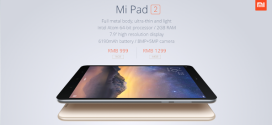 Xiaomi présente la MiPad 2