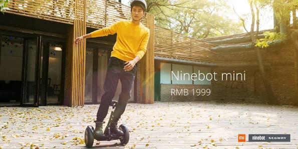 1xiaomi ninebot mini