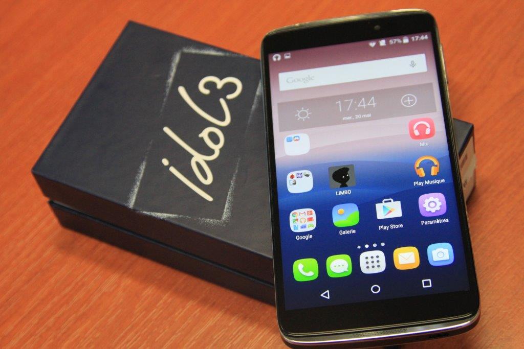 Test de l'Alcatel One Touch Idol 3 : Tout d'un grand, sauf ...